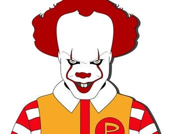 Pennywise x Ronald McDonald