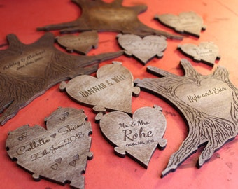 Replacement Personalized Piece for Our Wooden Puzzles