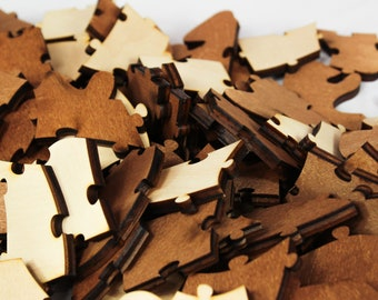 Replacement Wooden Puzzle Pieces For Havoly Made Wooden Puzzles Only