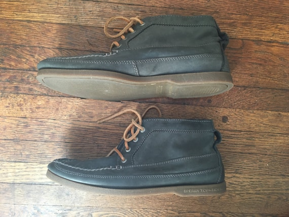 Vintage Sperry Topsiders Chukka Style Boat Shoes |