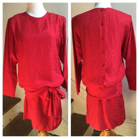 Flapper Dress | Dropped Waist Dress