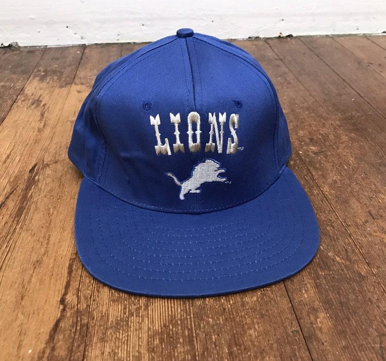 cheaper ec67a 61761 Vintage Detroit Lions Hat   Retro NFL Detroit Cap