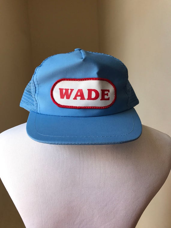d99f1b0d3ad Throwback Hipster Hat Baby Blue Trucker Hat Skater Hat