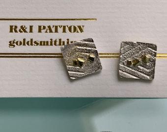 Stardust small post earrings