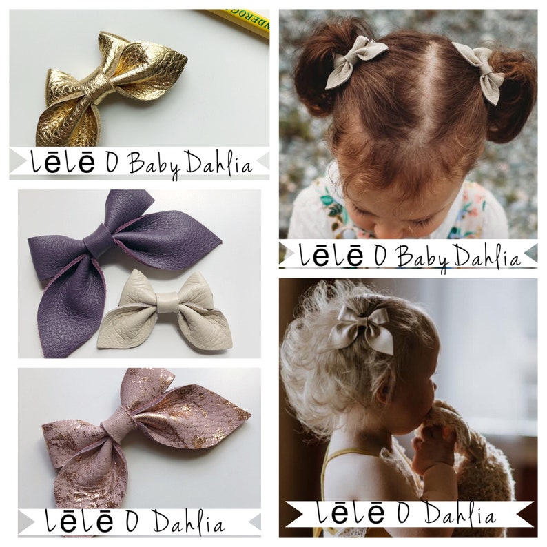 newborn to adult harvest colors one size fits most Autumn Floral leather bow headband or clip