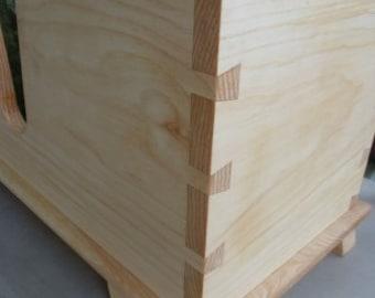 Custom Made Hand Dove-Tailed Cello Box