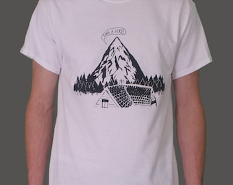 TAKE A HIKE! Screenprinted T-Shirt