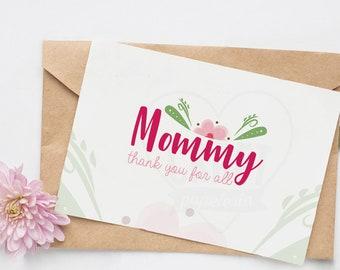 Mother's Day / Día de la Madre/ Mom / Mommy / Tarjeta / Card / Gracias / Thank you / Celebración / Celebration