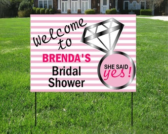 Custom Bag Yard Signs BBQ Yard Signs Event Yard Sign