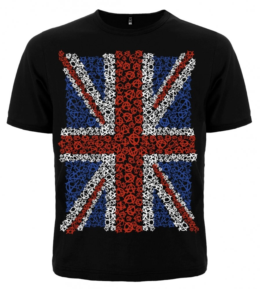 Anarchy Nation Pictures t-shirt great britain (anarchy) metal band nation rock shirt different size  new