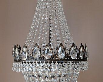 Kristallen Plafonniere : Luxurious chandelier etsy