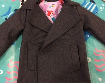 Customized Childrens Pea Coats