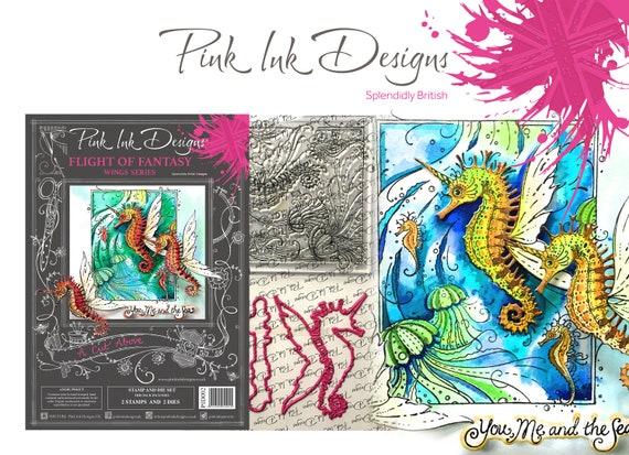 Seahorse stamp and die set.