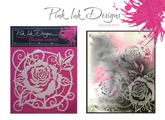 Craft Stencil, English Rose Garden