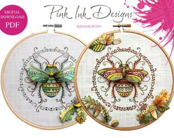 Beetle bug insect pdf digital download.