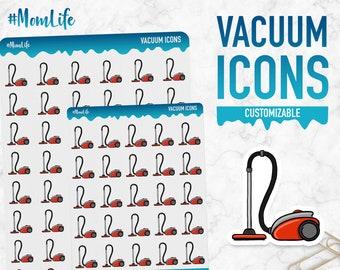 Mom Life | Vacuum Icons | Planner Stickers