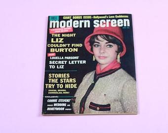 60's Modern Screen Magazine January 1964