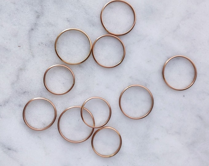 Rose Gold Filled Stacking Ring