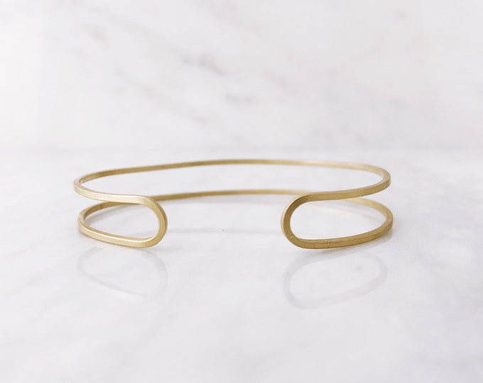 Ellipses Open Cuff