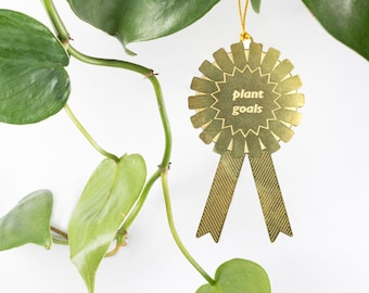 Plant Awards for your houseplants!