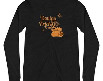 Doula Tricks, Halloween Birthworker Tee