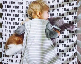 Wild Fitted Crib Sheet Monochrome Crib Bedding Set ModernBlack White Wild One  Crib Bedding - Newborn Boys Woodland Nursery-Baby Shower Gift