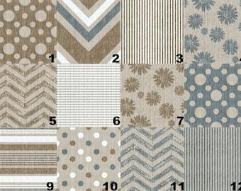 Nursery & Crib Bedding Sets - Rustic, Modern, Arrows, Stripes, Chevron, Navy, Tan, Brown - Crib Sheet, Changing Pad Cover, Crib Skirt, Decor