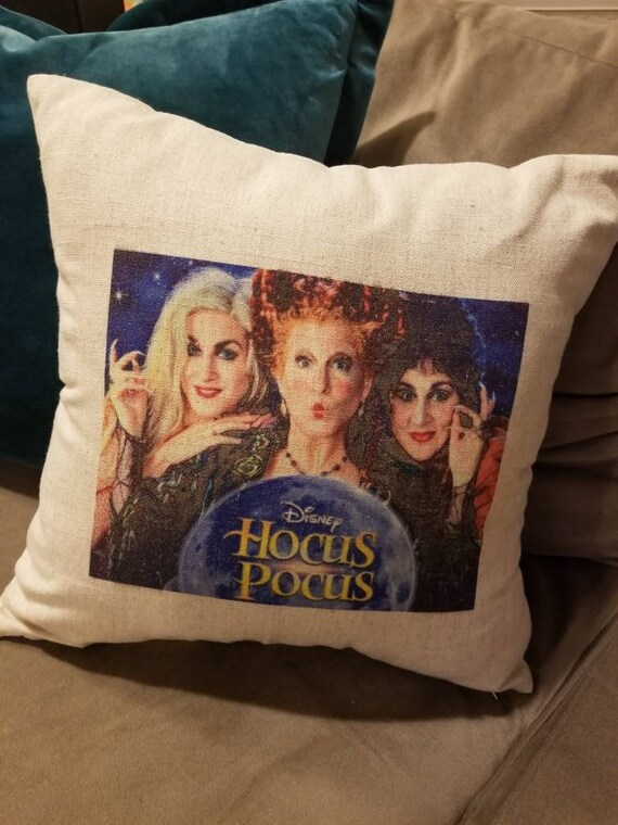 Hocus Pocus Throw Pillow Cover, Halloween