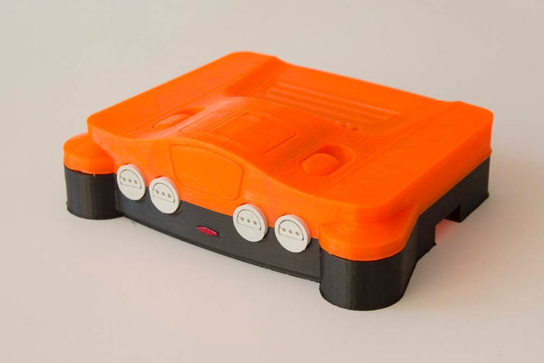 N64 Daiei Hawks case for Raspberry Pi Emulation System and Retrogaming - 3D  printed
