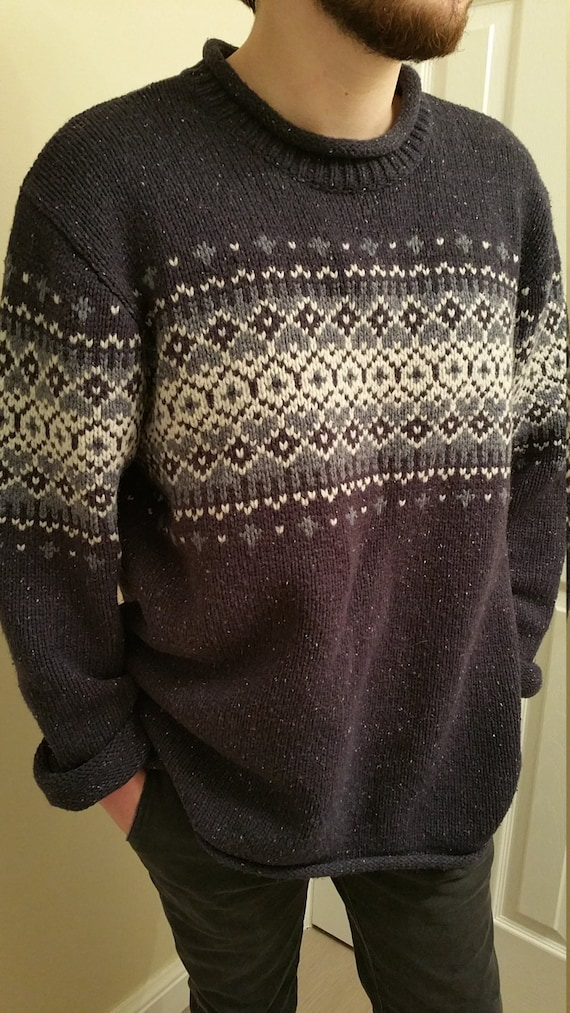 Vintage L.L. Bean Christmas Holiday Sweater -- Chr
