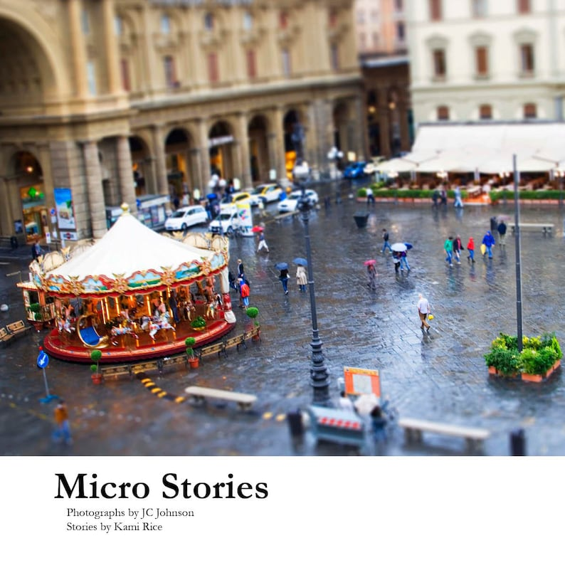 Micro Stories soft cover book by JC Johnson & Kami Rice image 0