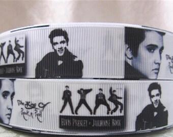 "7/8"" Elvis Presley Ribbon by the Yard   AG30"