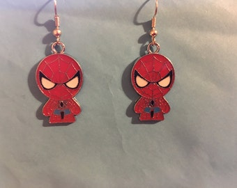 Spiderman Earrings   L68