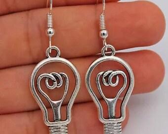 Light Bulb  Earrings  I54