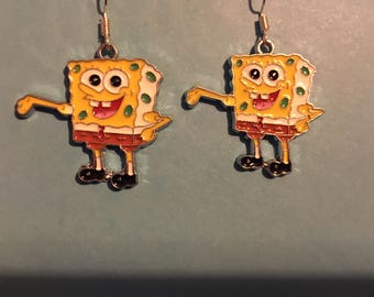 Spongebob Squarepants Earrings   AD15