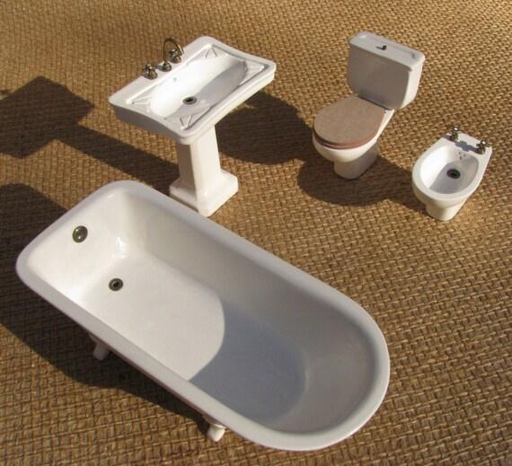 bath appliances 1/12 scale miniature | Etsy