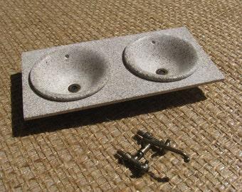kitchen sink 02 (miniature 1/12 scale)