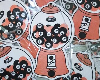 8 Ball Machine Air Freshener Bubblegum scented