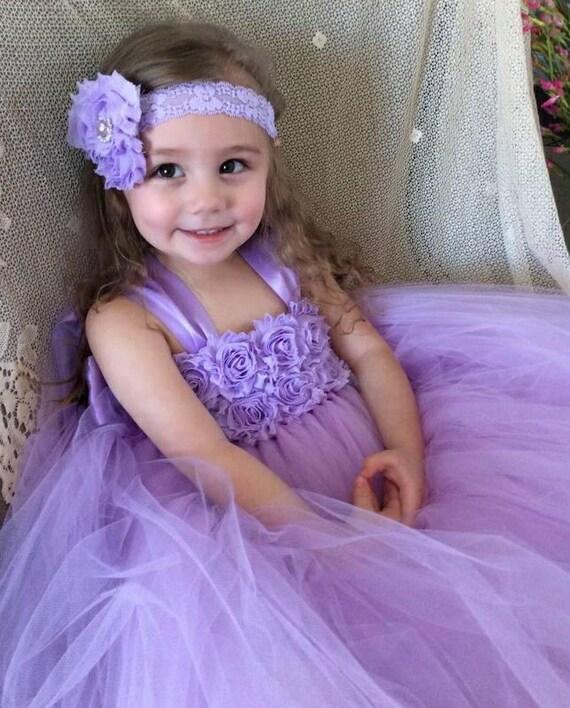 73e95197cc8 lilac flower girl dress purple flower girl dressflower girl