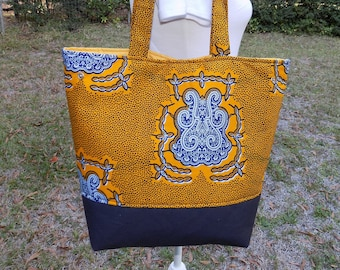 Expandable Bag, Handmade Shoulder Bag, Market Bag, Book Bag, African Print Tote, Tote Bag, Women Shoulder Bag, Ankara Bag, Women Handbag