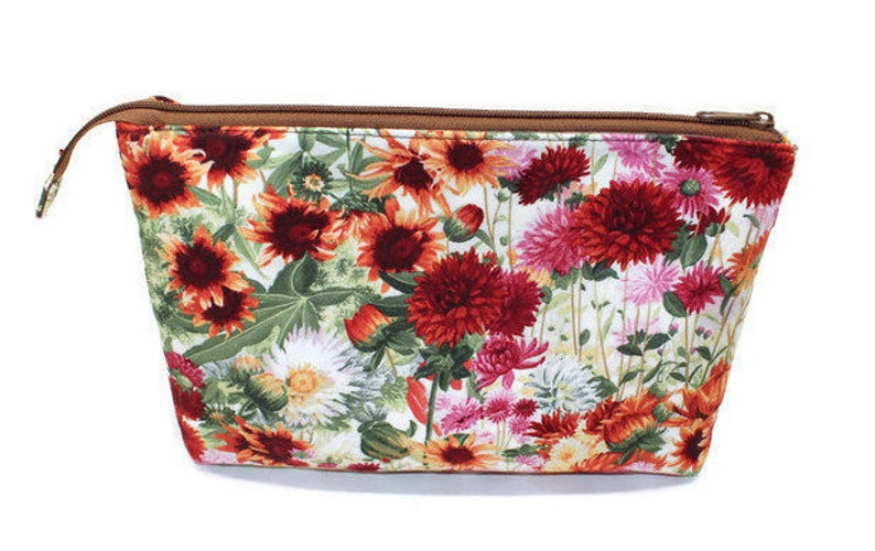 Accessory Case Zipper pouch for Women Gift for girls Makeup image 0