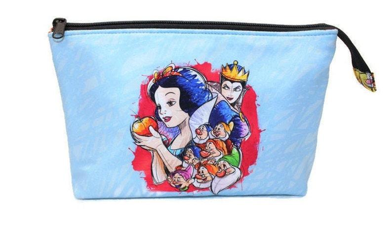 Handmade Zipper Pouch Cosmetic Bag Makeup Bag Women's image 0