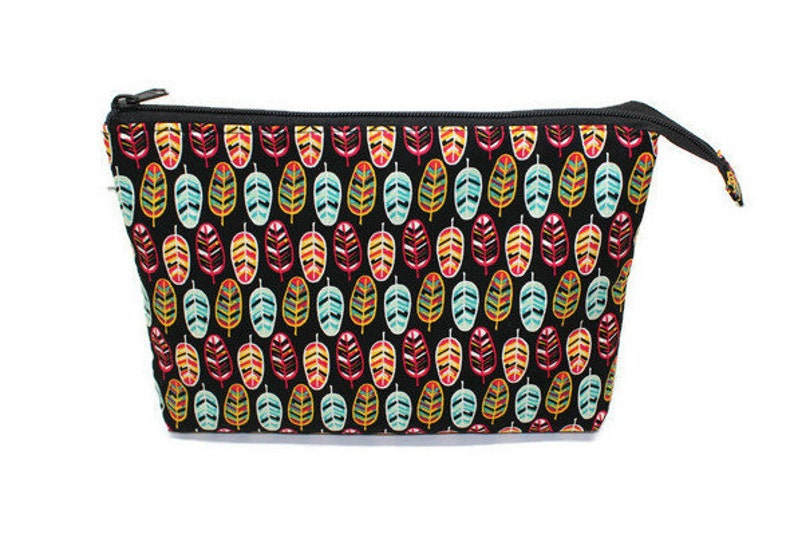 Large Cosmetic Pouch Zipper Pouch For Women Gifts for Girls image 0