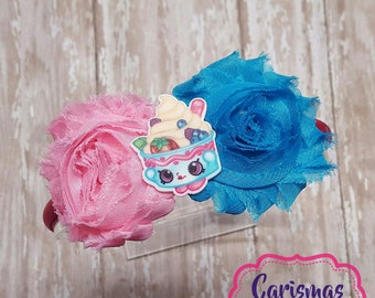 Shopkins Yo Chi Headband  Shopkins Headband  Shopkins Yo Chi  Shopkins Hair  Bow  Shopkins Bow