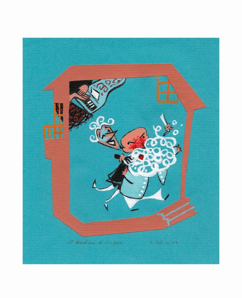 The Barber of Seville giclée print image 0