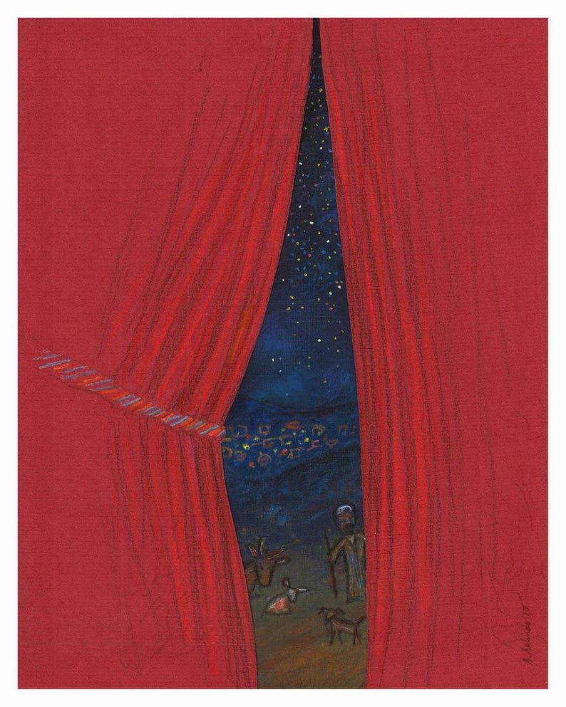 Tomorrow Christmas giclée print image 0