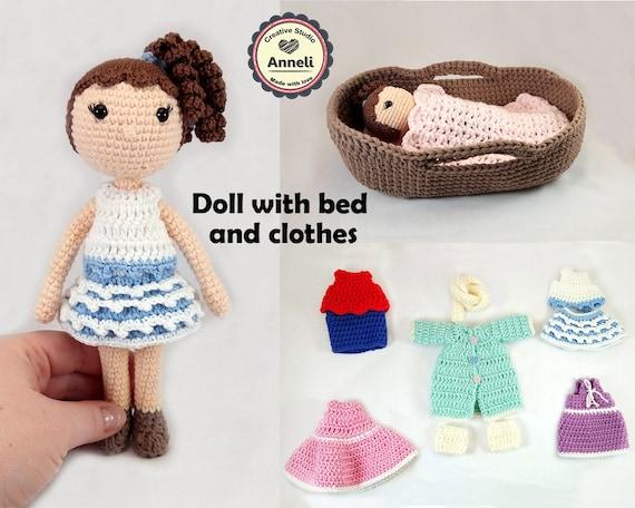 Amigurumi Puppe Häkeln Puppe Amigurumi Häkeln Puppe Etsy