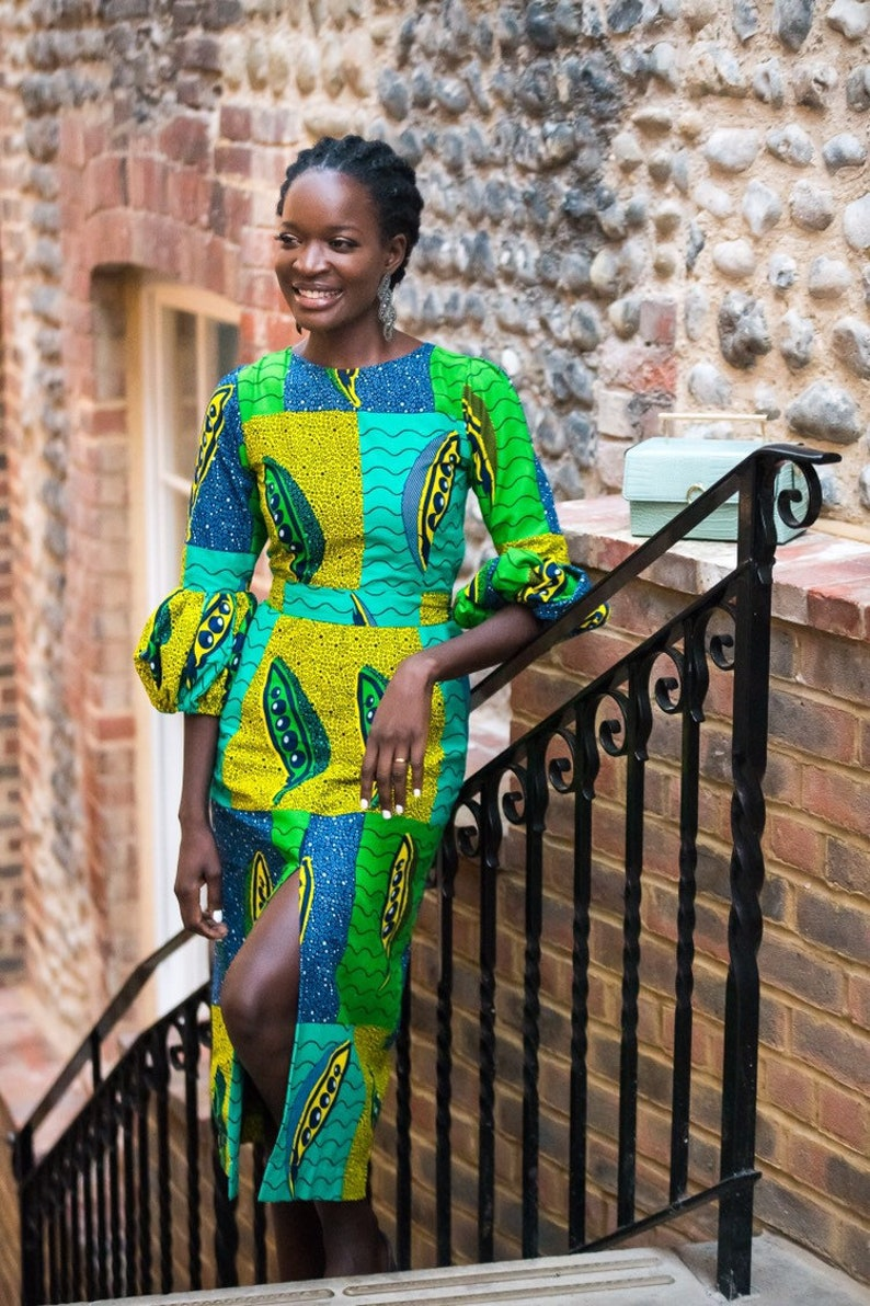 African print dress Printed dress African dress African image 0
