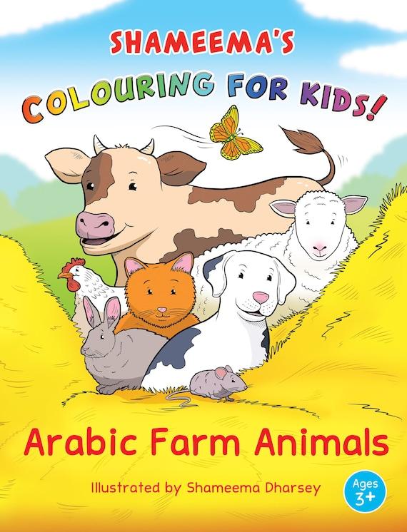 86 Colouring Book Farm Animals HD