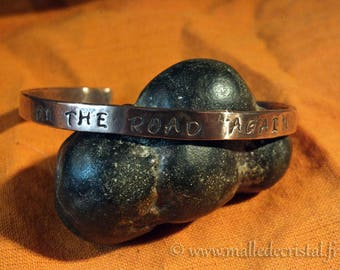 Copper bracelet with your SENTENCE / QUOTE Engraved !!!